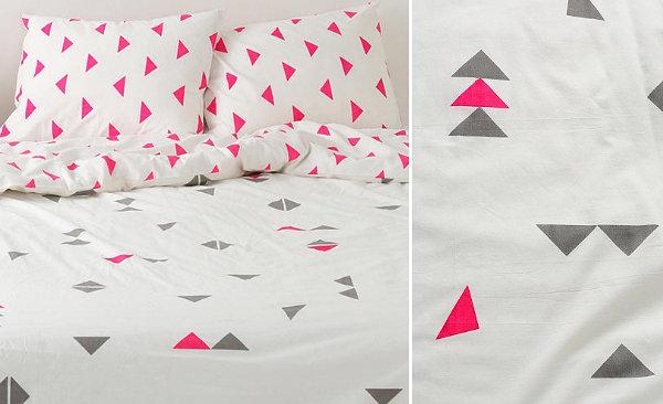 Постельное бельё с текстильным узором