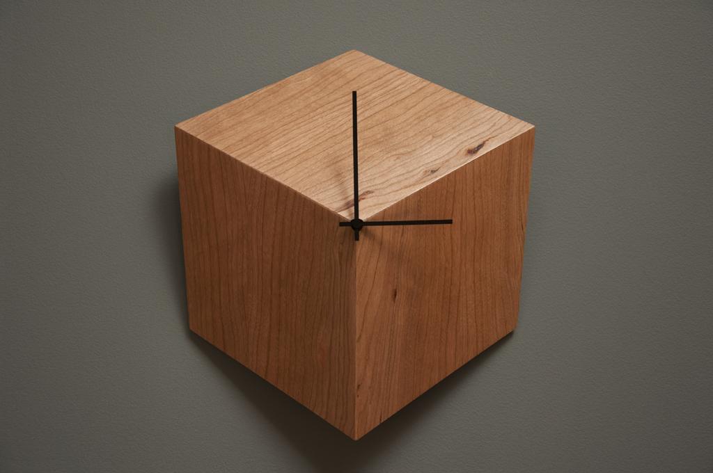 Оригинальные настенные часы 3P из дерева
