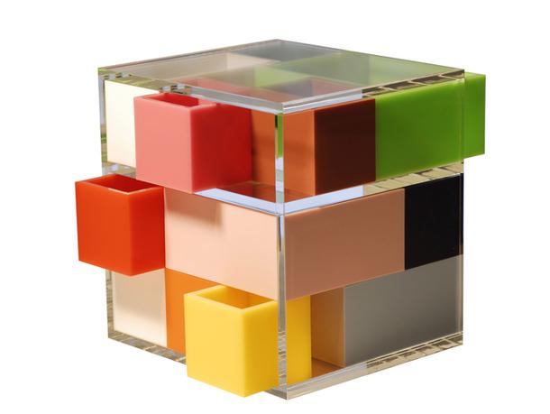 Акриловая шкатулка Puzzle Box