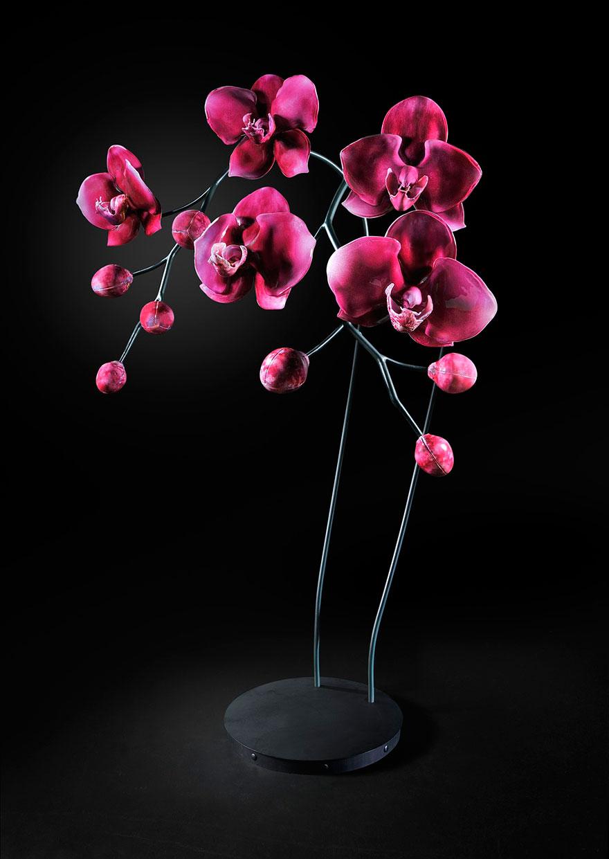 Плотоядные растения и красивые паразиты, сделанные из стекла Джейсоном Гармашем, стеклодувом из Сиэтла