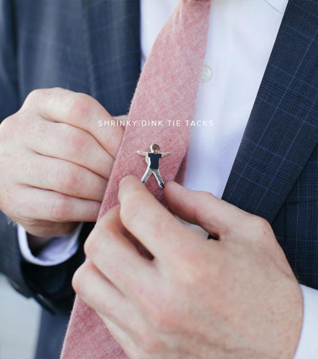 Красивая запонка на галстук