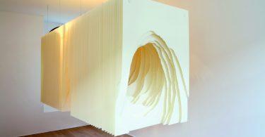 Бумажные скульптуры Ангелы Гласьяр с захватывающим трёхмерным туннельным эффектом