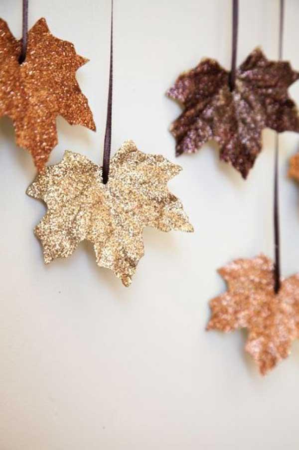 Листья для гирлянды