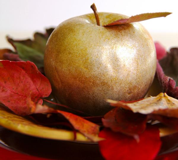 Позолоченное яблоко