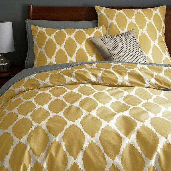 Золотисто-медовый набор постельного белья