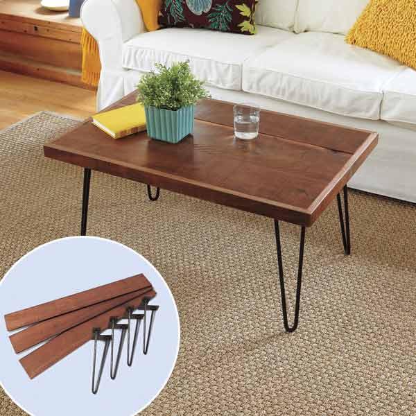Бесподобный журнальный столик в дизайне интерьера