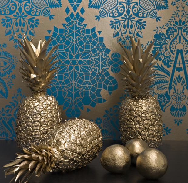 Decorative gold elements: tips for successful use in the interior