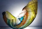 Стеклянные волны скульптора Грэма Мюра