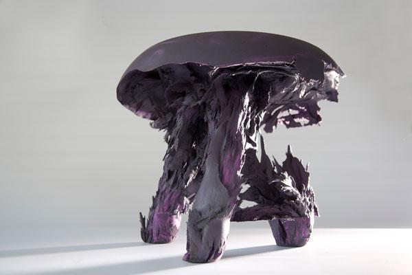 Креативная гравитационная табуретка от Jólan van der Wiel