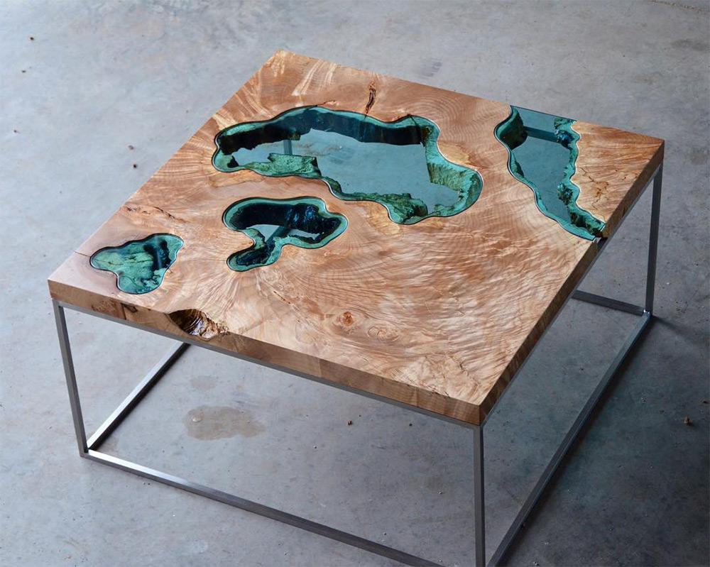 Мебельное искусство: столы на все случаи жизни от Грега Классена
