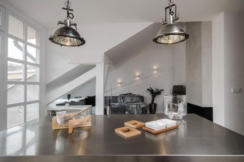 Креативное оформление помещения в стиле лофт