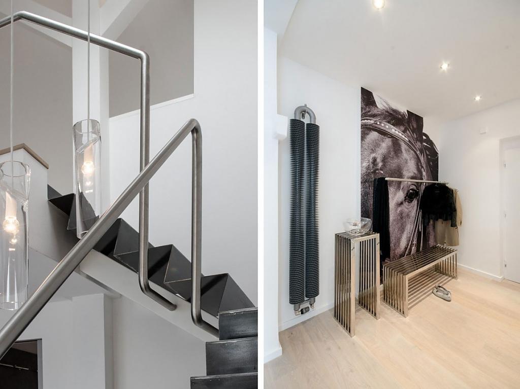 Шикарное оформление помещения в стиле лофт