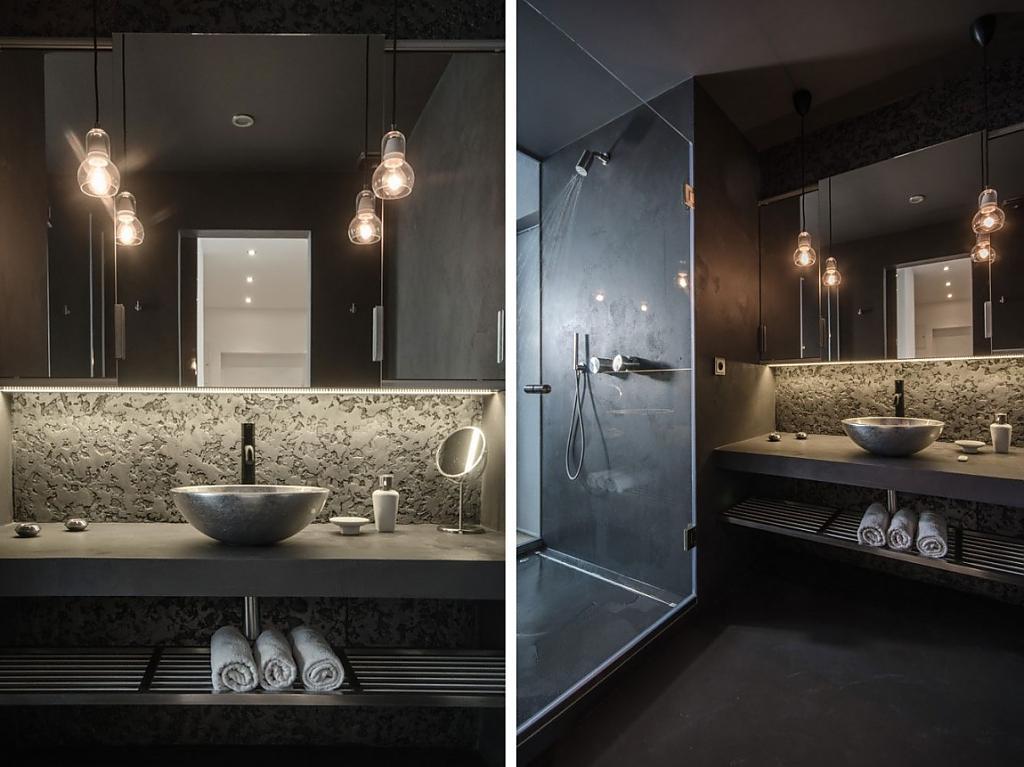 Головокружительное оформление помещения в стиле лофт