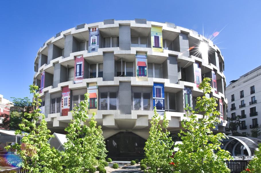 Футуристический павильон для CasaDecor Madrid