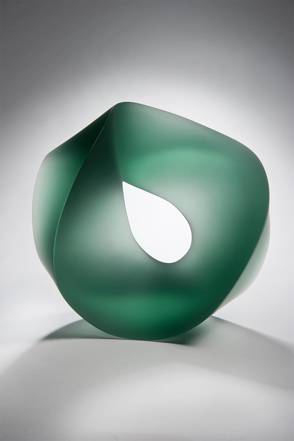 Хайке Брачлоу: цветные модульные скульптуры из литого стекла