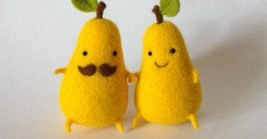 Подарите миру любовь: оригинальные игрушки из войлока от Анны Довгань