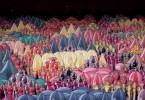 Хидеки Инаба: фрагменты графических сцен из клипа «Медленный восход»