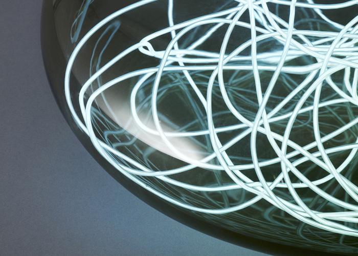 Красивый светильник Hadron lighting от Joe Doucet