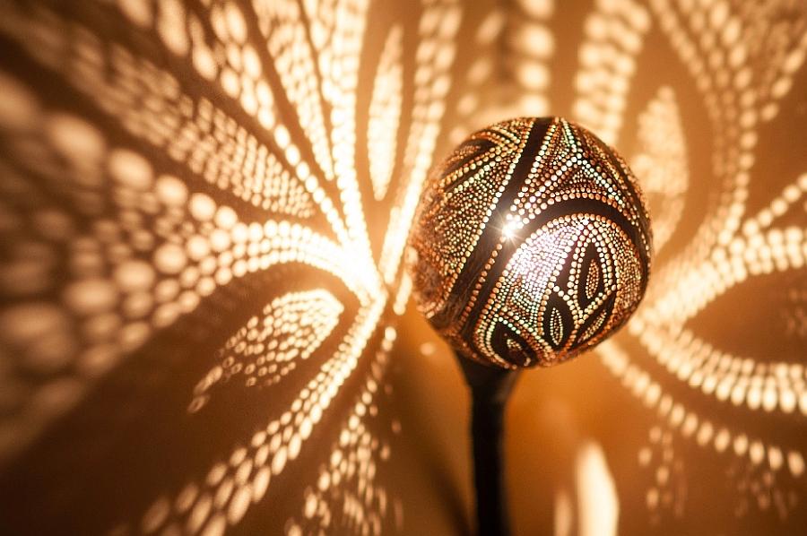 Удивительный светильник Лампа Нимфы