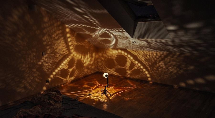 Умопомрачительный светильник Лампа Нимфы