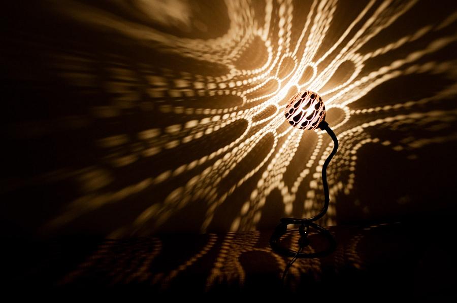 Чудесный светильник Лампа Нимфы