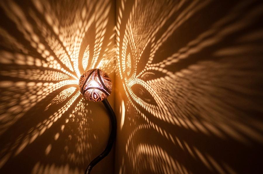 Необычный светильник Лампа Нимфы