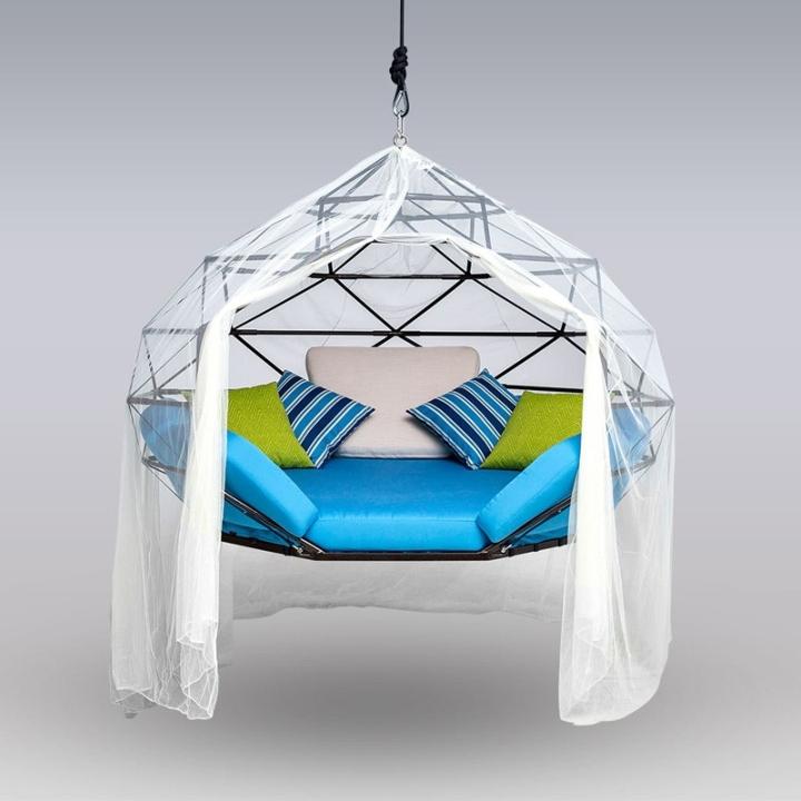 Классное висячее кресло от дизайнера Kodama Zomes