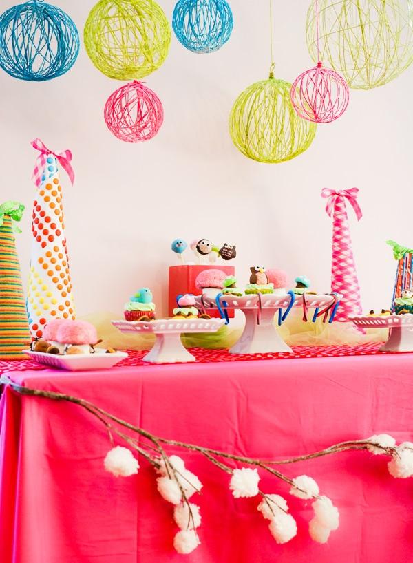 Идеи для декора детского дня рождения своими руками