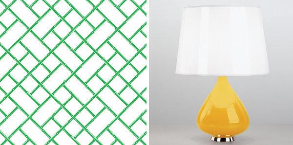 Лампа в дизайне интерьера