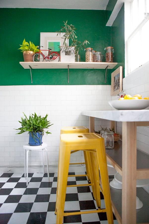 Замечательный дизайн интерьера кухни