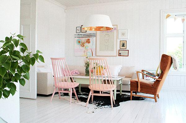 Креативный дизайн интерьера комнаты