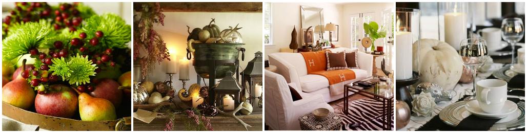 Идеи украшения дома в осеннем стиле