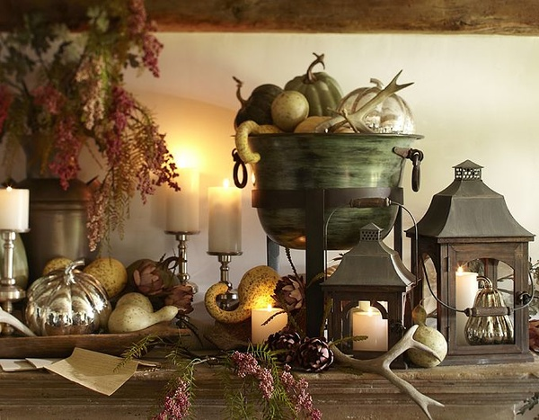 Овощи на осенней кухне