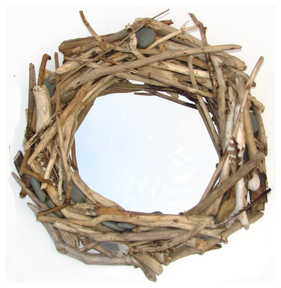 Птичье гнездо из балочек