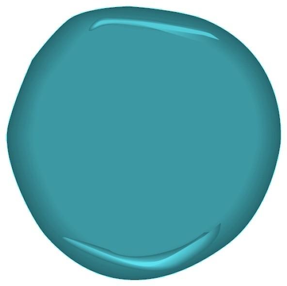 Чудесный синий цвет