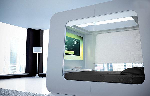 Ультра-современная кровать