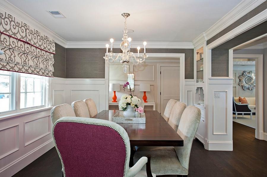 Interior design of dining