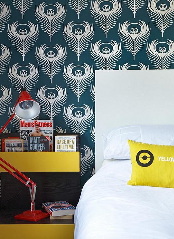 Современные тенденции мира дизайна - обои в спальне