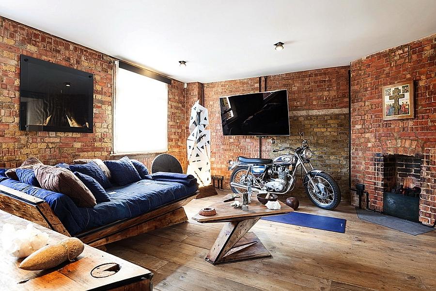 Современные тенденции мира дизайна - кирпичная стена в интерьере