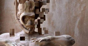 Хсу Тун Хан: резные скульптуры с цифровыми глюками