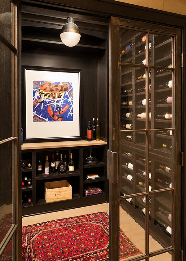 Лампа Hicks Pendant в интерьере винного бара