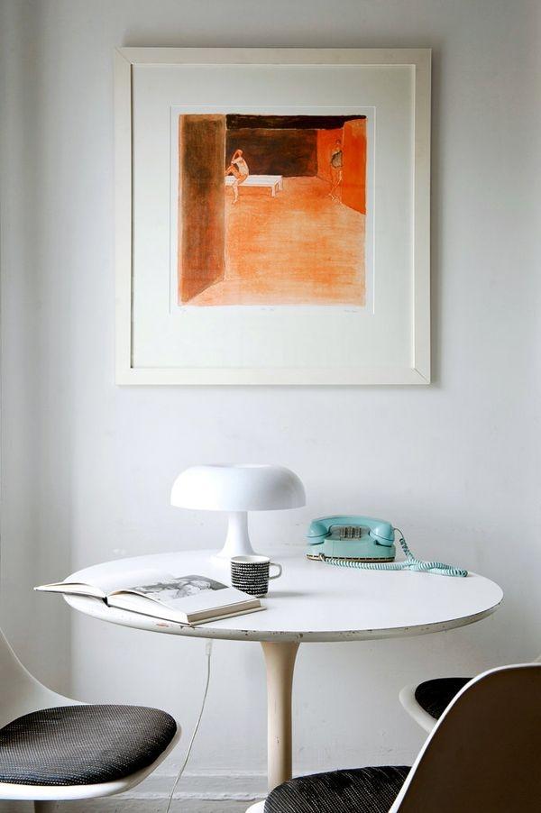 Современная настольная лампа Nesso в интерьере