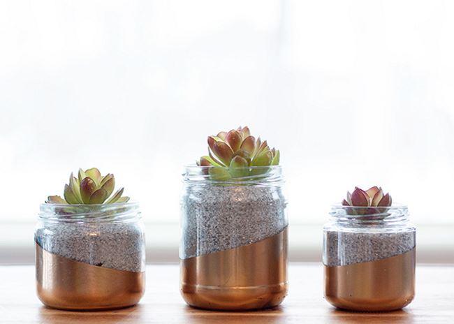 поделки из стеклянных банок