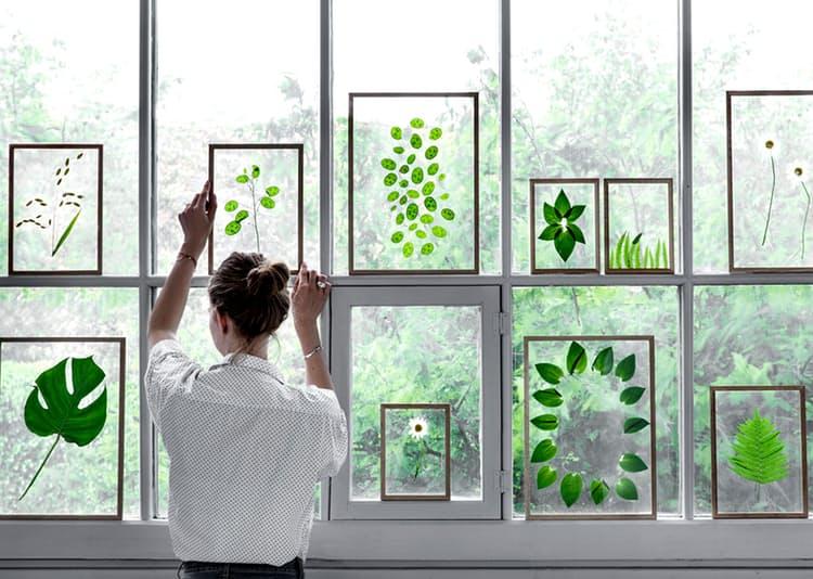 Оригинальные идеи декора комнаты: стеклянные стеклянные картины