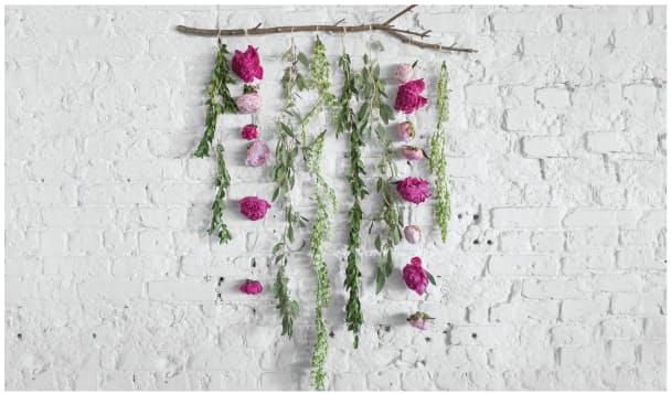 Необычные цветочные идеи декора комнаты - Фото 9