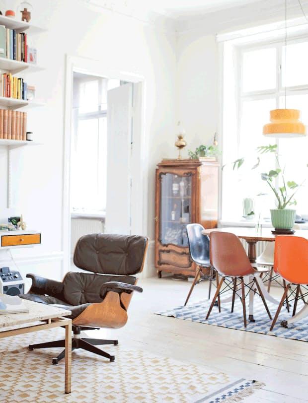 Идеи декора интерьера: оригинальные стулья в столовой