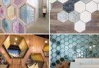 Идеи декорирования дома шестигранниками