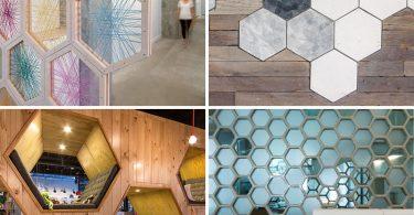 Идеи декорирования дома с использованием шестигранников