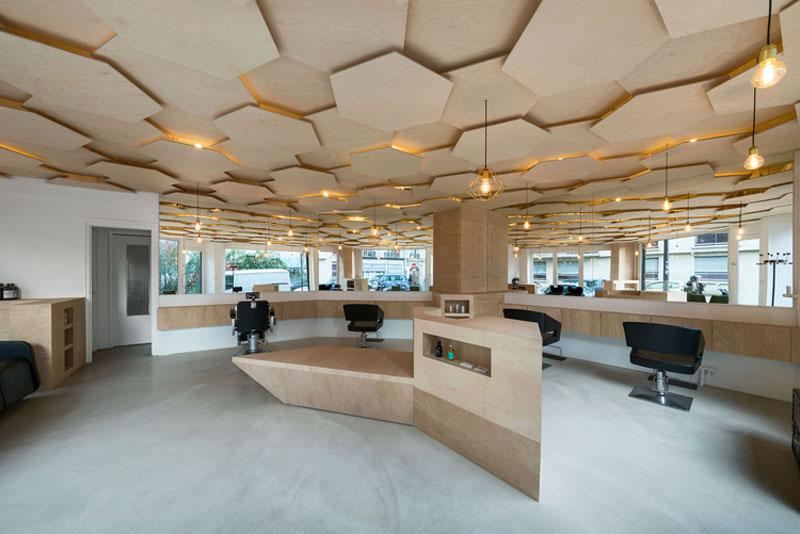 Деревянные потолки в интерьере от Джошуа Флоквина