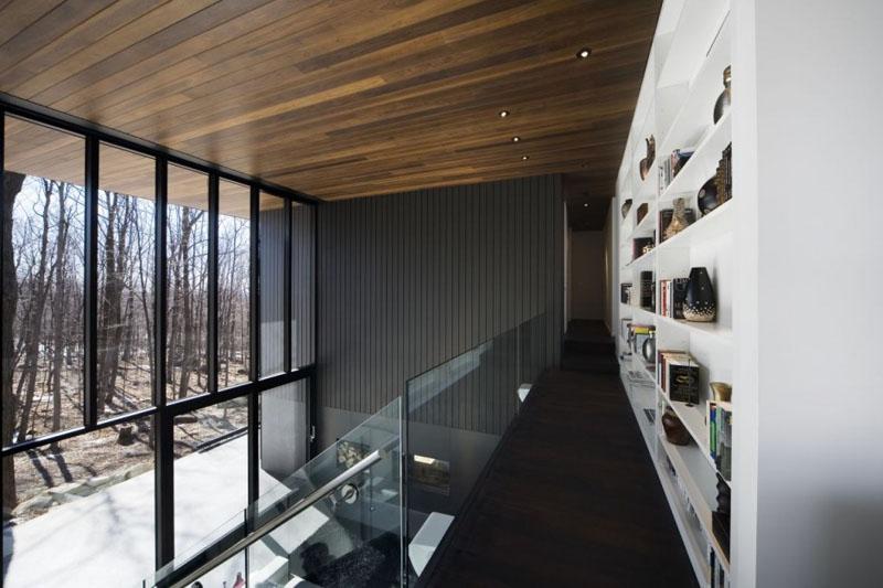 Деревянные потолки в интерьере от Блуин Тардиф